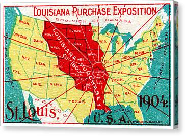 1904 Louisiana Purchase Exposition Canvas Print by Historic Image