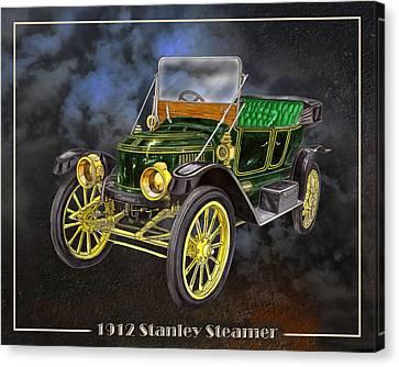 1912 Stanley Steamer Canvas Print by Jack Pumphrey