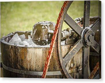 1920's Ice Cream Maker Canvas Print by Bradley Clay
