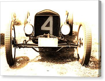 1923 Ford Frontenac Model T Racer Canvas Print by Steven  Digman