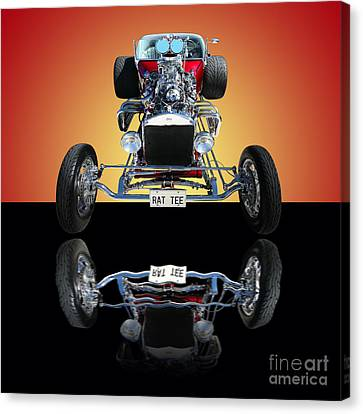 1923 Ford Rat Tee T Bucket Canvas Print by Jim Carrell