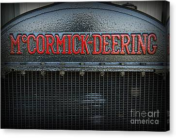 1925 Mccormick Deering Tractor Canvas Print by Paul Ward