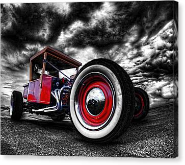 1927 Ford T Bucket Canvas Print by Scott Cohen