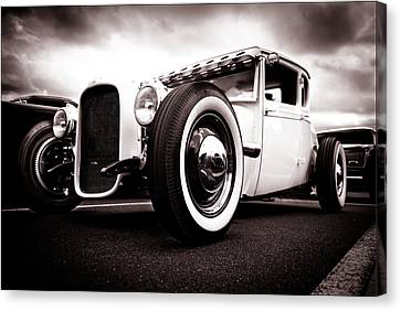 1928 A Coupe Canvas Print by Phil 'motography' Clark