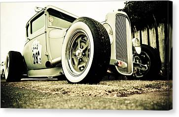 1928 Ford Model A Hot Rod Canvas Print by Phil 'motography' Clark
