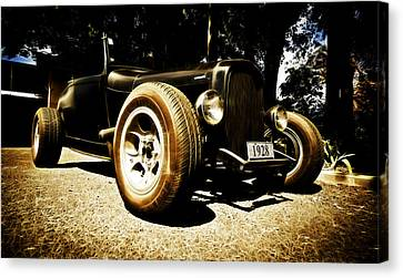 1928 Ford Model A Rod Canvas Print by Phil 'motography' Clark