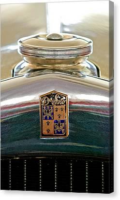 1930 Desoto K Hood Ornament Emblem Canvas Print by Jill Reger
