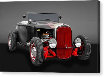 1930 Ford Hot Rod Canvas Print by Frank J Benz