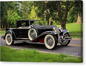1931 Cord  Canvas Print by Dennis Hedberg