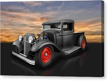 1932 Ford Truck Canvas Print by Frank J Benz