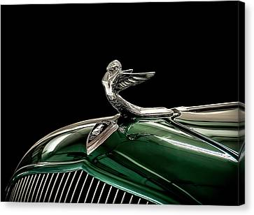 1933 Plymouth Mascot Canvas Print by Douglas Pittman