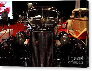 1934 Cadillac V16 Aero Coupe - 5d19875 Canvas Print by Wingsdomain Art and Photography