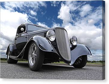 1934 Ford Coupe Canvas Print by Gill Billington