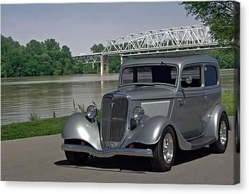 1934 Ford Sedan Hot Rod Canvas Print by Tim McCullough