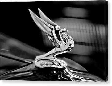 1935 Chevrolet Hood Ornament 3 Canvas Print by Jill Reger