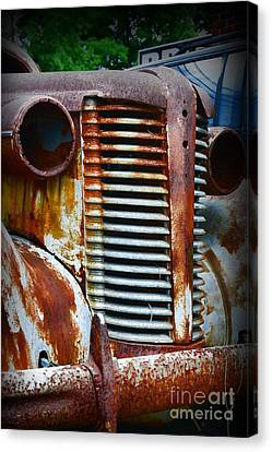 1937 Rusty Buick Canvas Print by Paul Ward