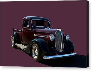 1938 Plymouth Hot Rod Pickup Truck Canvas Print by Tim McCullough