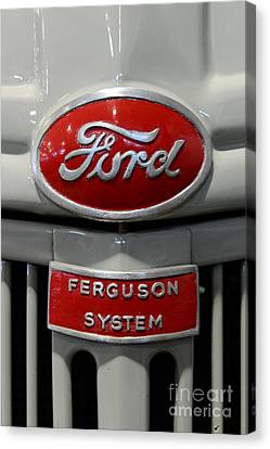 1941 Ford Tractor Ferguson System Canvas Print by Paul Ward