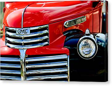 1942 Gmc  Pickup Truck Canvas Print by Jill Reger