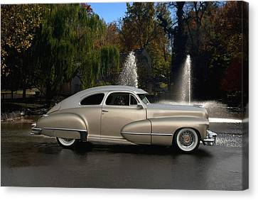 1947 Cadillac Coupe Rodtique Canvas Print by Tim McCullough