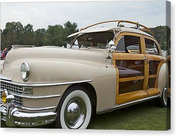 1947 Chrysler Canvas Print by Jack R Perry