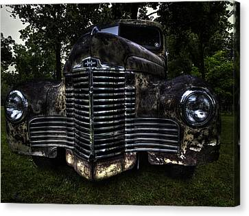 1948 International Truck Canvas Print by Thomas Young