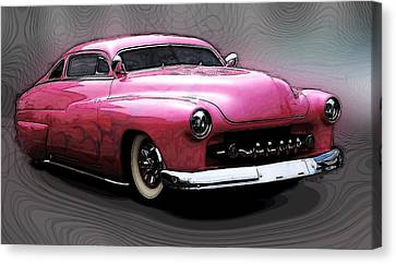 1949 Merc Canvas Print by Steve McKinzie
