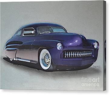 1949 Mercury Canvas Print by Paul Kuras
