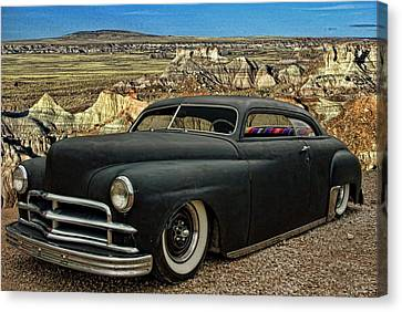 1949 Plymouth Low Rider Canvas Print by Tim McCullough