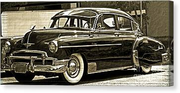1950 Chevrolet Canvas Print by Gwyn Newcombe