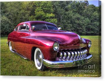 1950 Custom Mercury Canvas Print by David B Kawchak Custom Classic Photography