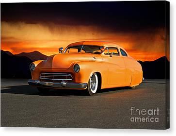 1950 Mercury 'boulevard Cruiser' Canvas Print by Dave Koontz