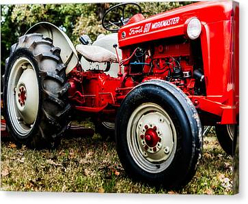 1950s-vintage Ford 601 Workmaster Tractor Canvas Print by Jon Woodhams