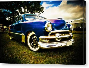 1951 Ford Custom Canvas Print by Phil 'motography' Clark