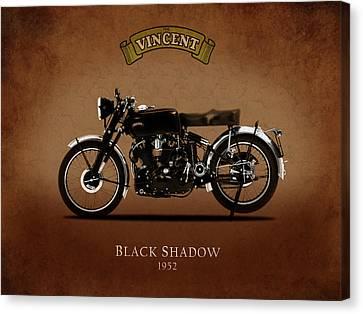 1952 Black Shadow Canvas Print by Mark Rogan
