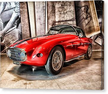 1953 Fiat Canvas Print by Mountain Dreams