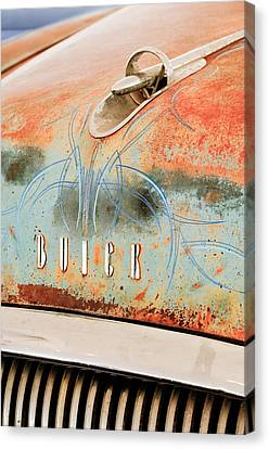 1954 Buick Special Hood Ornament Canvas Print by Jill Reger