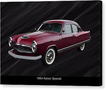 1954 Kaiser Special Canvas Print by Chris Flees