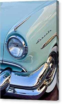 1954 Lincoln Capri Headlight Canvas Print by Jill Reger