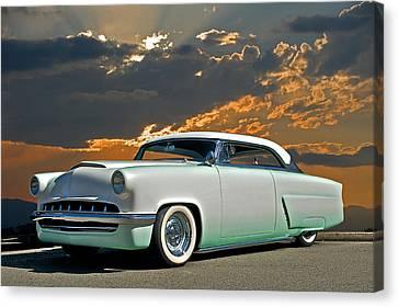 1954 Mercury Retro Custom Canvas Print by Dave Koontz