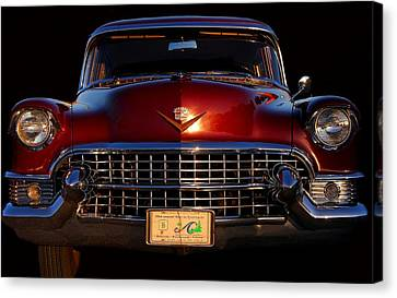 1955 Cadillac Series 62 Canvas Print by Davandra Cribbie