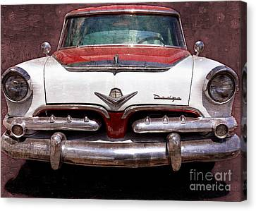 1955 Dodge In Oil Canvas Print by Steve Kelley