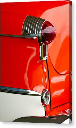 1955 Oldsmobile Taillight Canvas Print by Jill Reger