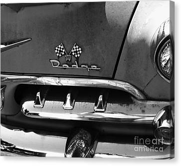 1956 Dodge 500 Series Photo 2 Canvas Print by Anna Villarreal Garbis