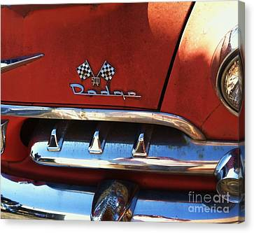 1956 Dodge 500 Series Photo 2b Canvas Print by Anna Villarreal Garbis
