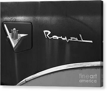 1956 Dodge 500 Series Photo 3 Canvas Print by Anna Villarreal Garbis