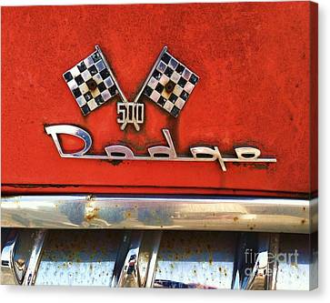 1956 Dodge 500 Series Photo 8b Canvas Print by Anna Villarreal Garbis