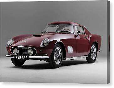 1956 Ferrari Gt 250 Tour De France Canvas Print by Gianfranco Weiss