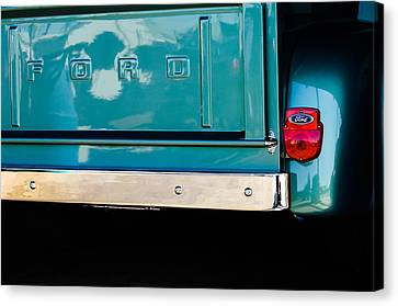 1956 Ford F-100 Truck Taillight 2 Canvas Print by Jill Reger