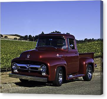 1956 Ford Pickup Canvas Print by Patricia Stalter